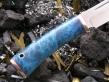 Нож РН-9 (М390, кап клёна, мельхиор)