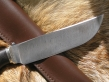 Нож Крот (Дамаск, граб, мельхиор)