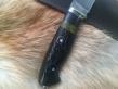 Нож Охотник 1 (Булат, наборная рукоять, мельхиор)