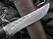 Нож - Кабан (дамасская сталь, граб)