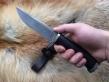Нож Классик (Булат, венге, мельхиор, деревянные ножны)