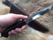 Нож Долина (Elmax, венге, мельхиор)