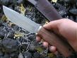 Нож Косуля 1 (м390, комель сливы, дюраль)