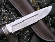 Нож - Солдат (дамасская сталь, граб)
