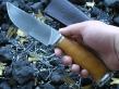 Нож ОН-13 (Vanadis10, стаб. карельская береза, мельхиор)
