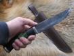 Нож Кречет 1 (9хс, наборная рукоять, мельхиор)
