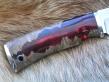 Нож РК-1 (Elmax, комбинированная рукоять, мельхиор)