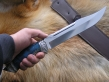 Нож Большой (ХВ5, стаб. карельская береза, мельхиор)