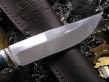 Нож НР 1 (ХВ5, стаб. карельская береза, мельхиор)