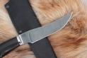 Нож - Рысь (дамасская сталь, граб)