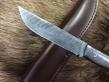 Цельнометаллический дамаск (Дамасская сталь, рукоять из дамаска)