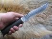 Нож ОНД-4 (дамаск, граб, мельхиор)