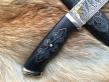 Нож Путник (Elmax, граб, деревянные ножны, инкрустация)