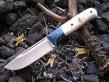Нож Цельнометаллический (Vanadis10, накладки рог)
