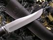 Нож Охотник эксклюзивный (Elmax, мельхиор, наборная рукоять)