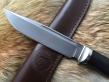Нож Воин (Elmax, граб, мельхиор)