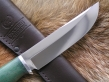 Нож Косуля 3 (х12мф, кап клена, дюраль)