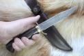 НР-40 Нож разведчика (Дамаск, венге, латунь)