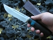 Нож Ладога (Elmax, сборная рукоять, мельхиор)
