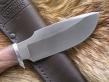 Нож Шкуросъемный 2 (Булат, кап клена, дюраль)