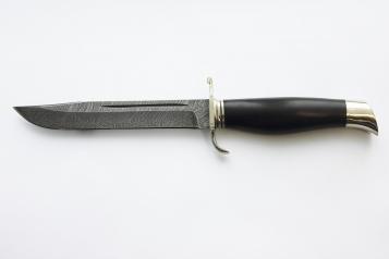 Финка подарочная 2 (даммаск, граб)