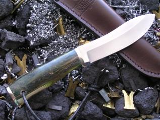 Нож РН-1 (M390, акрилат, мельхиор)