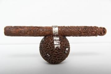 Нож Танто (Орех, серебро)