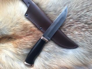 Нож Охотничий 1 (Vanadis 10, бронза, граб)