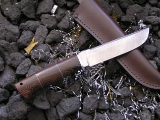 Нож Степной (Дамаск, венге, дюраль)