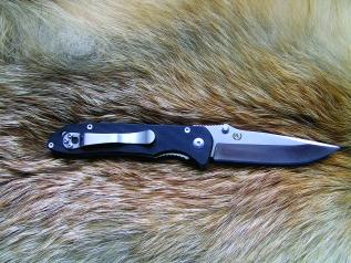 Складной нож №7