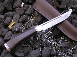Нож ОНД 6-1 (Дамаск, венге, мельхиор)