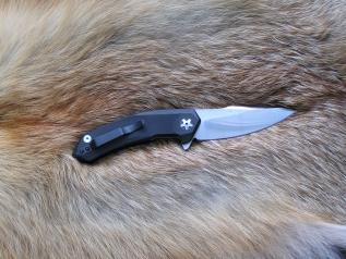Складной нож №20 (D2, G-10)