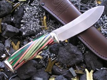 Нож РН-2 (M390, акрилат, мельхиор)