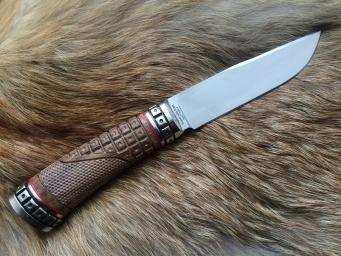Нож Kasumi 1 (Kasumi vg10, орех, мельхиор)