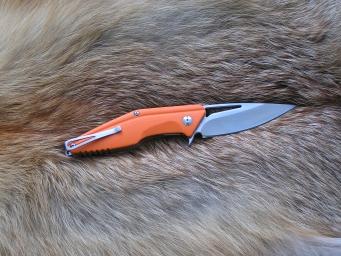 Складной нож №21 (D2, G-10)