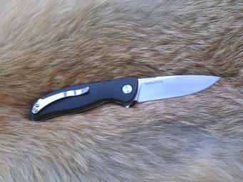 Складной нож №10 (Cronidur30 EVO, G-10, подшипниковый механизм)