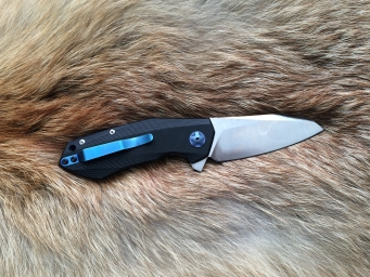 Складной нож №17 (D2, G-10)